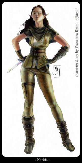 Nerida - illustrazione personale