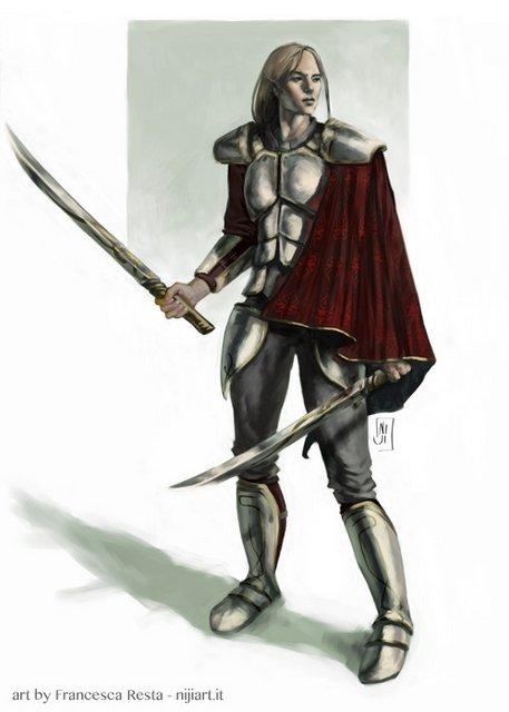 Niiel - personaggio su descrizione di Claudia