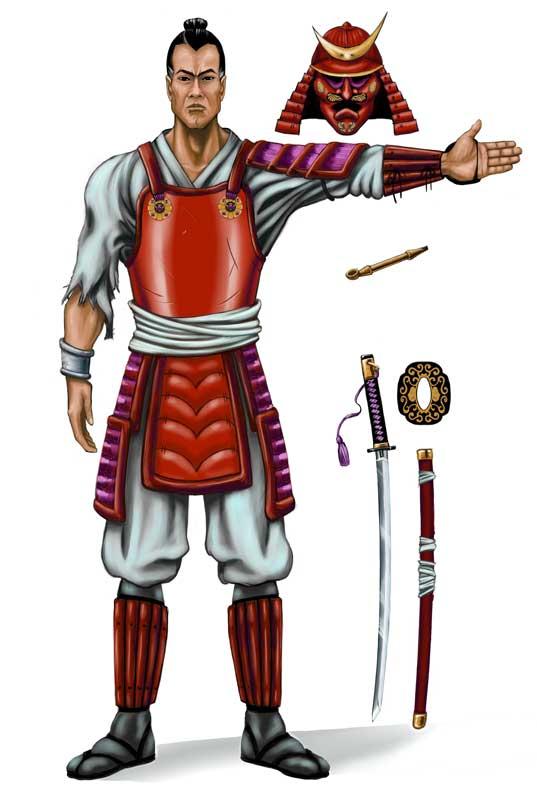 samurai front l