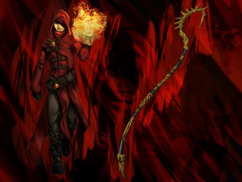 mago o stregone specializzazione fuoco direi