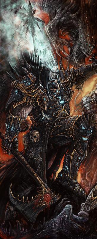 guardia nera provenienza warhammer