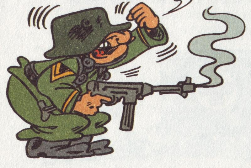 Prode Sergente... sempre dalle Sturmtruppen...