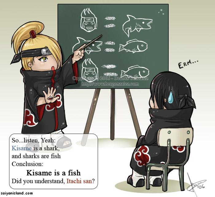 Conclusion Kisame is a Fish