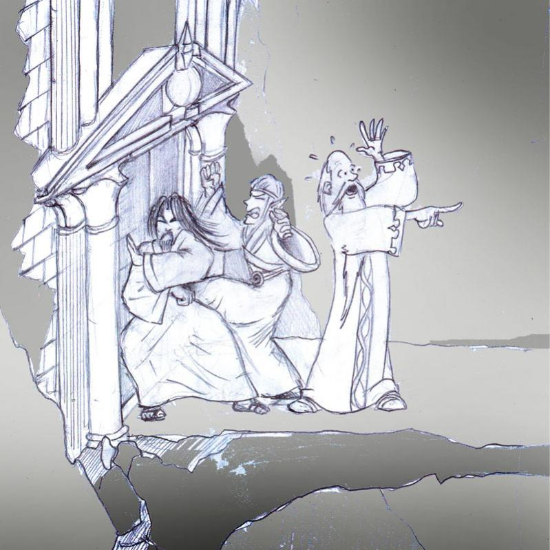 Elohim, Merlyn e Medhai: il portale è chiuso!!