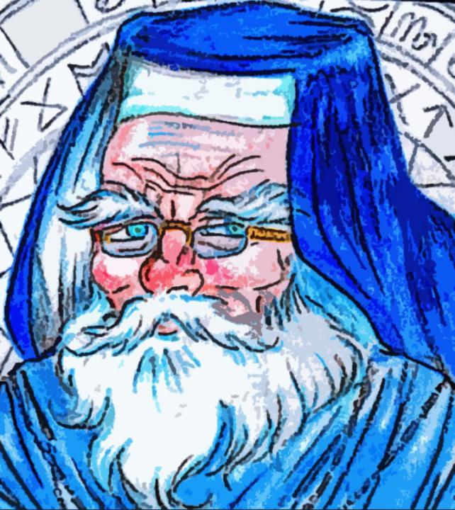 """Wandor Vorloi, mago di Specularum convertito all' """"Eterna Verità"""""""