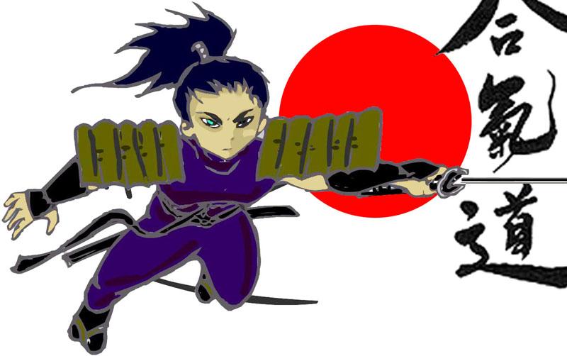 Il samurai volante!