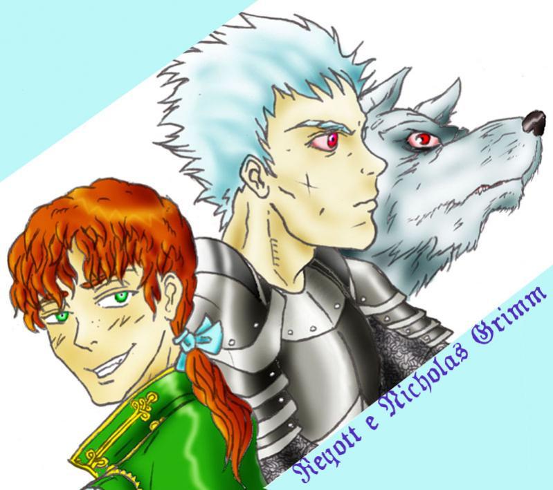 Reyott l'albino guerriero-lupo e l'astuto Nicholas Grimm
