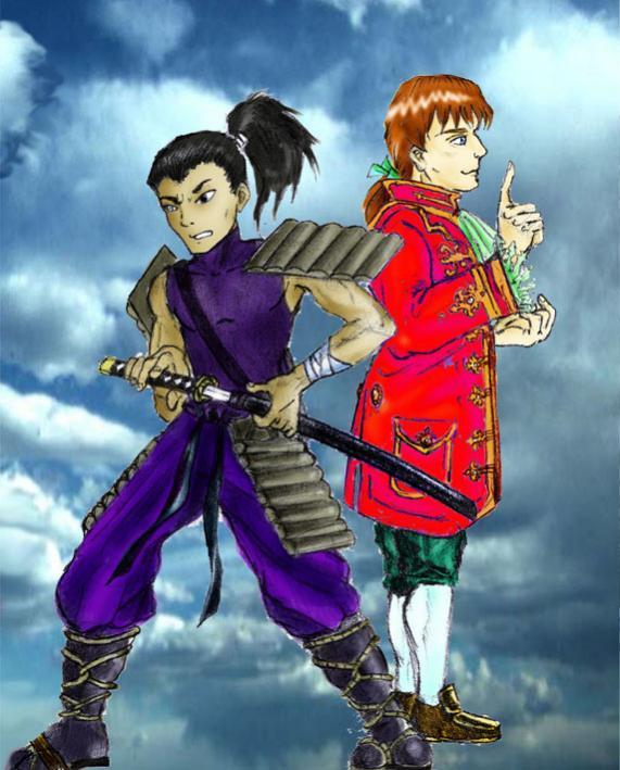 Il giovane samurai e il signor Nicholas Grimm (maledetto damerino!)