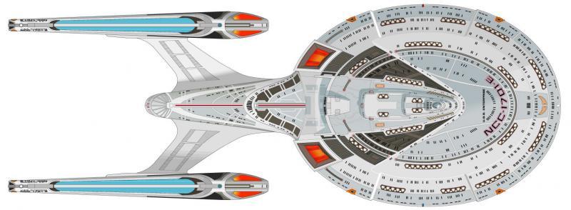 la mitica Enterprise E