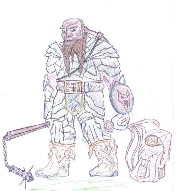 pg nano Thor disegnato da me