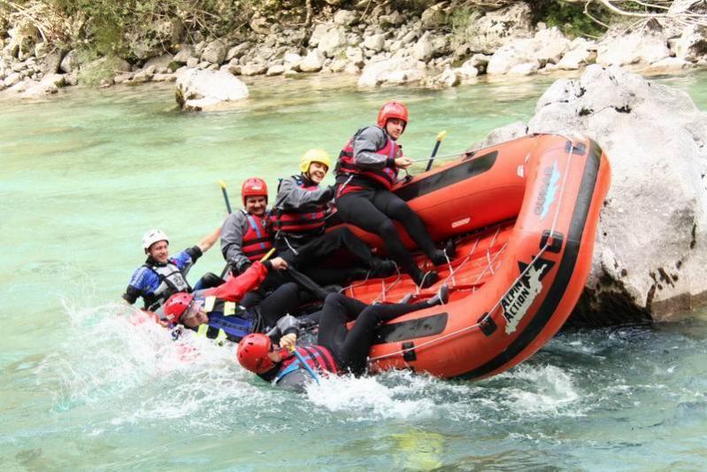 Rafting 2008 - Prove di stabilità