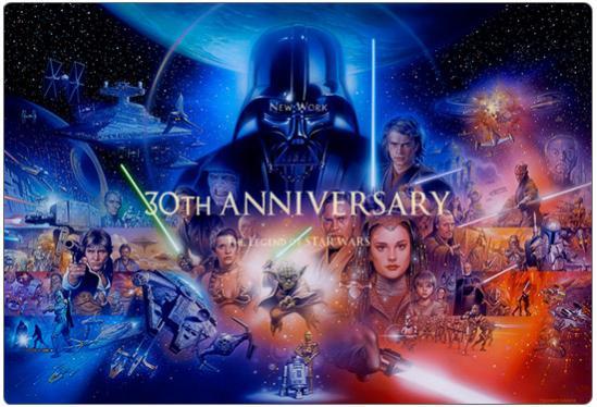 Star Wars... sarà per il GDR... sarà che in fondo mi è sempre piaciuta la saga... ma un bel wallpaper ci stava proprio!
