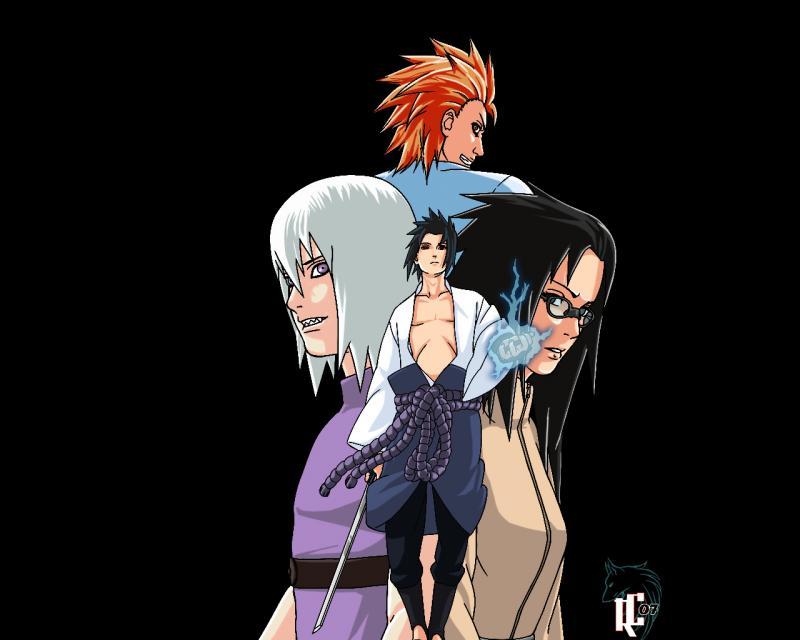 Sasukes Team Hebi