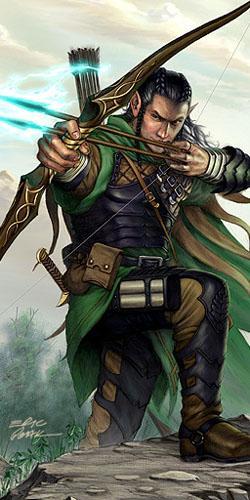 baok, arcere elfo