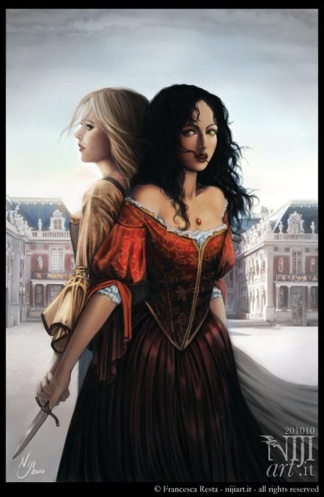 Illustrazione per Fuga da Versailles
