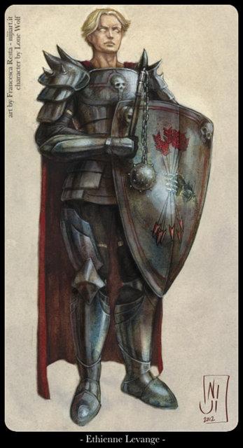 Ethienne - illustrazione per la scheda del personaggio