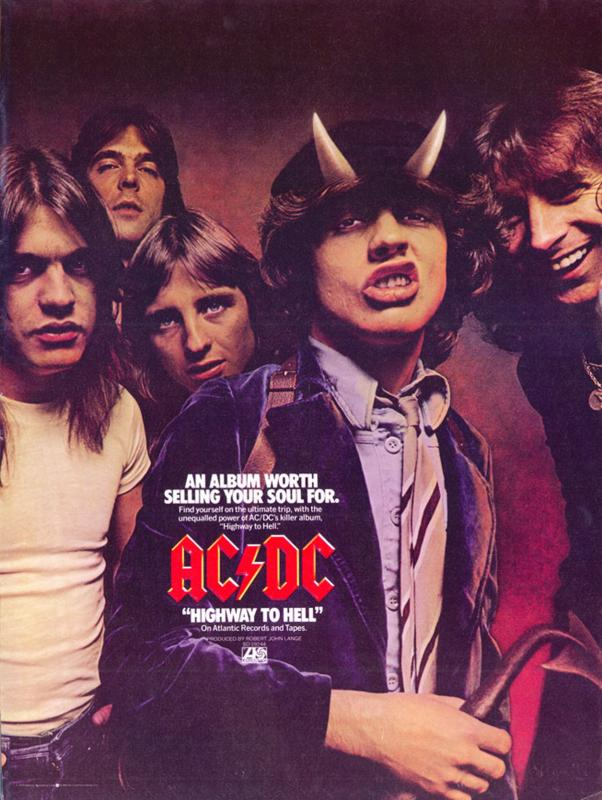 1979 ACDC record ad hth billboar