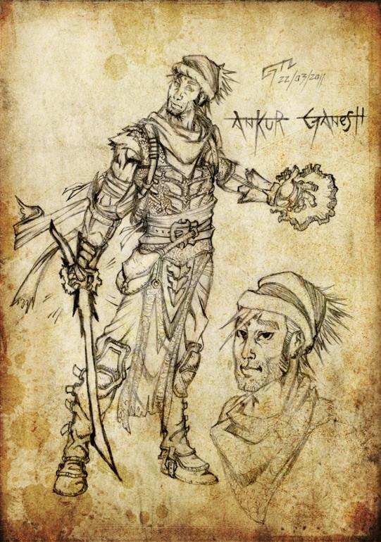 Ankur Ganesh, Umano, Spadaccino spirituale 10° Livello