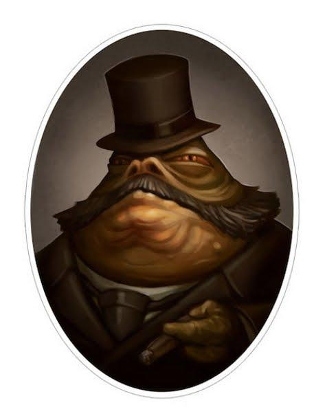 Jabba the Hut Steampunk