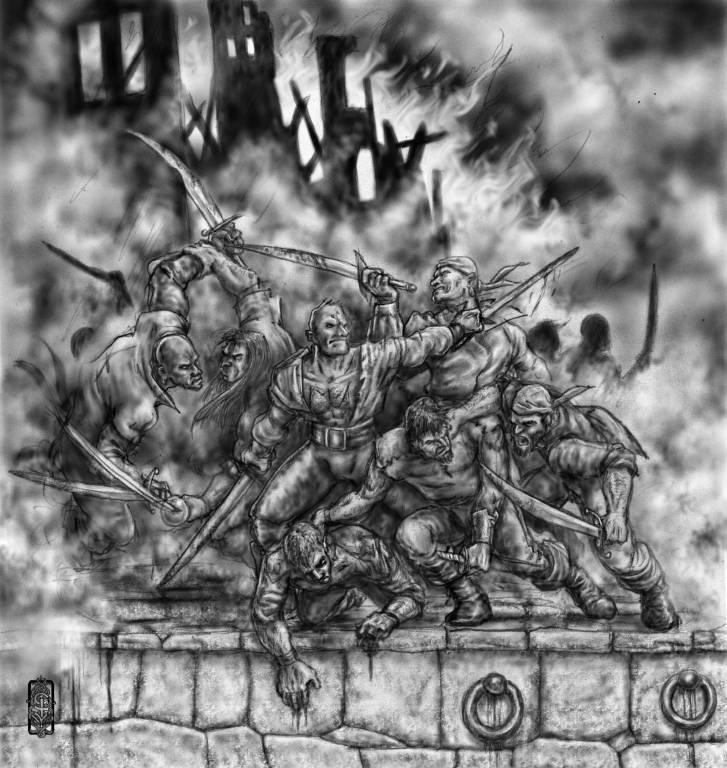 I terribili scontri della Battaglia delle Mille Candele