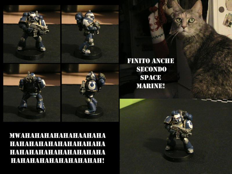 Secondo Space Marine!