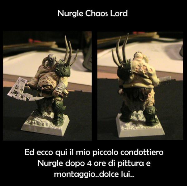 Nurgle Chaos Lord