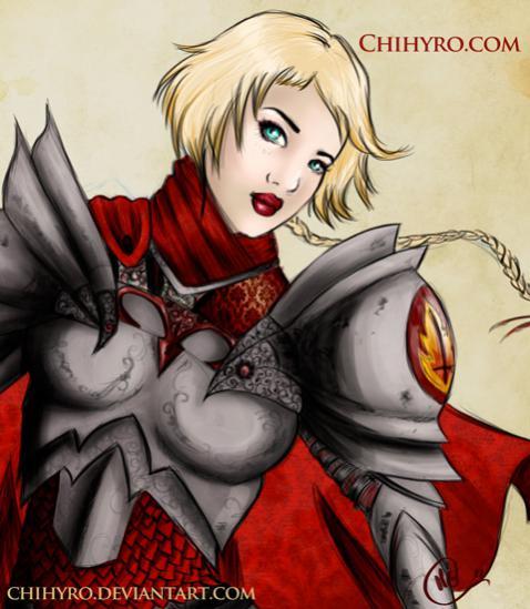 Illustrazione del mio personaggio: Rachelle. E' una Aasimar, Chierica di Tempus.