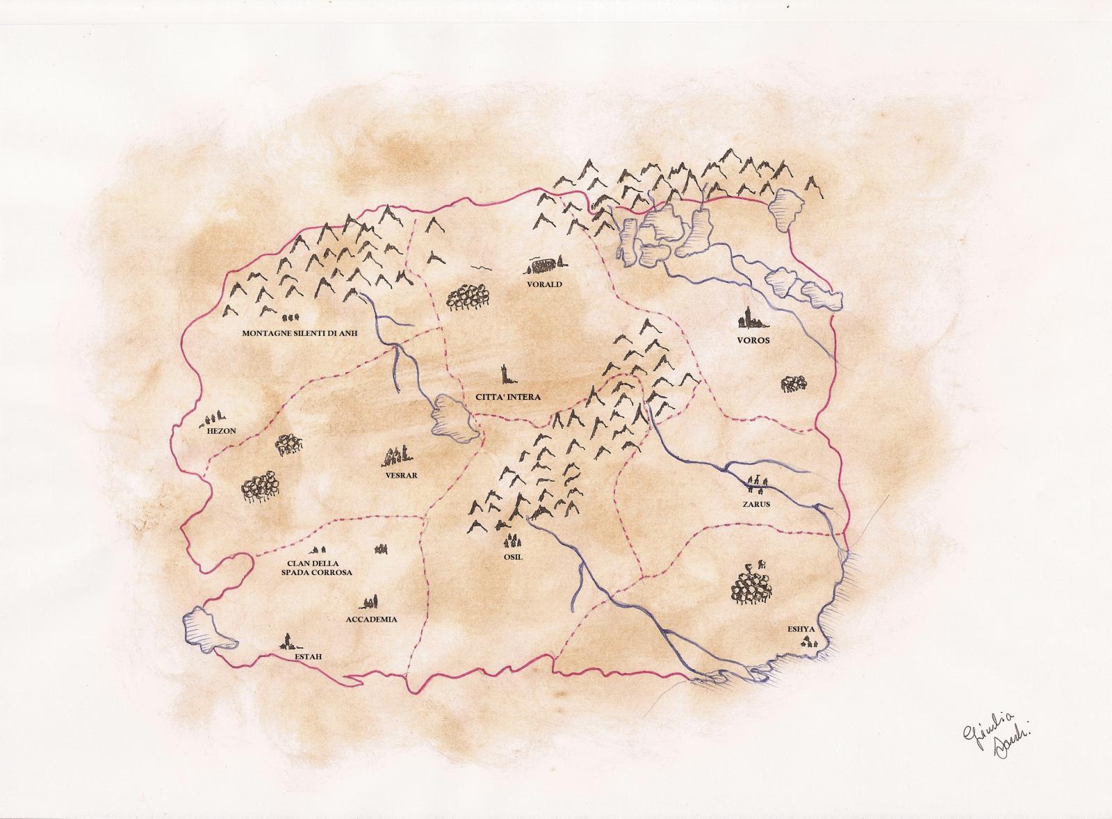 Mappa Delor