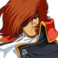 Capitan Harlock: un avatar che uso su Skype... ma che ha il suo fascino.