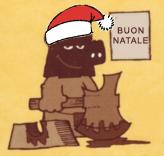 Orco Boia in versione natalizia....