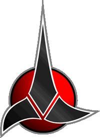 Klingon (il logo dell'Impero)...