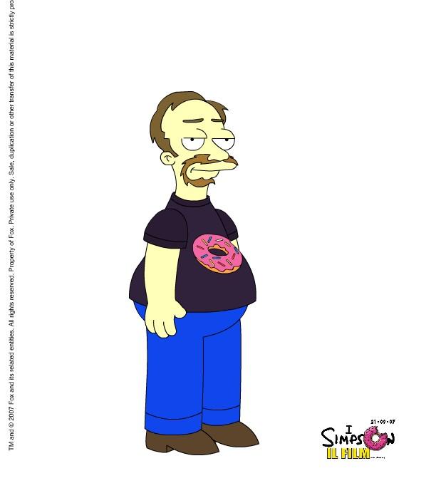 Io in versione Simpsons secondo me medesimo stesso!