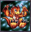 Baby dragon: una carta di YugiHo... ma non mi interessa.. il draghetto arancione è troppo bello!