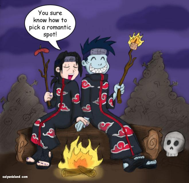 Kisame and Itach A Romatic Setting darkwater pirate