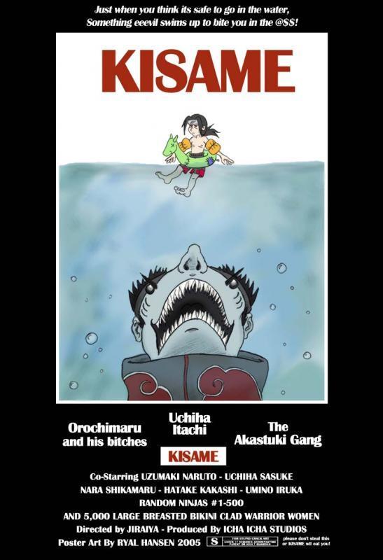 Kisame Movie Poster darkwater pirate
