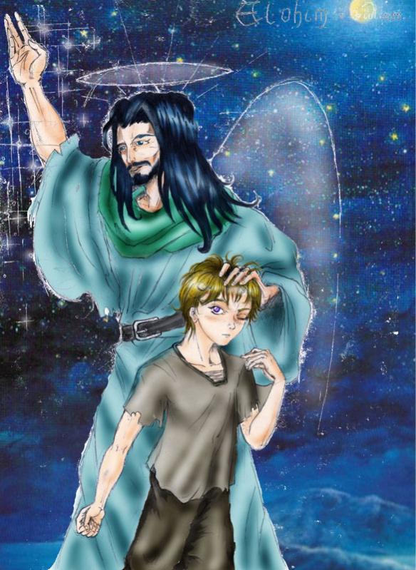 Elohim e il suo giovane discepolo Giuliano