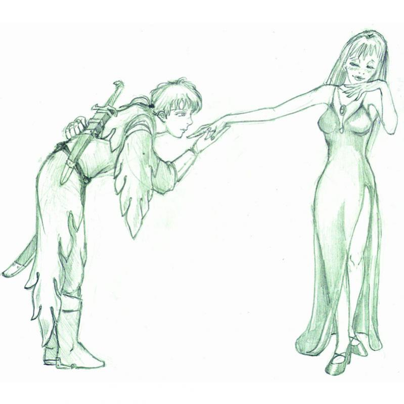 Kiran e Tia: romanticismo...