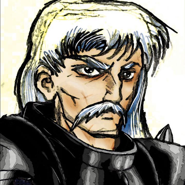 Rotis Yadrord, comandante dei mercenari