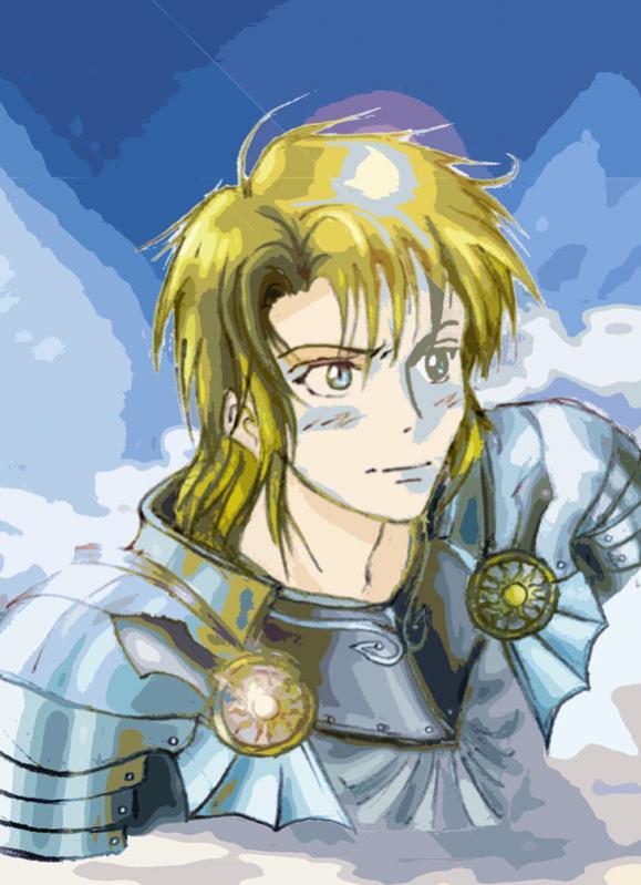 SIR CALEB NOD, il bellissimo paladino di Ixion