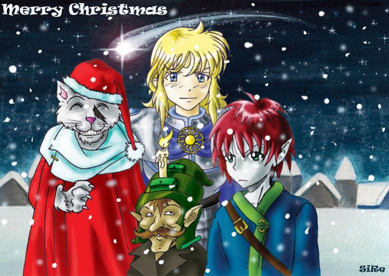 Buon Natale (personaggi di Fabio): Hakujin, Sir Caleb, Bogger, Janard