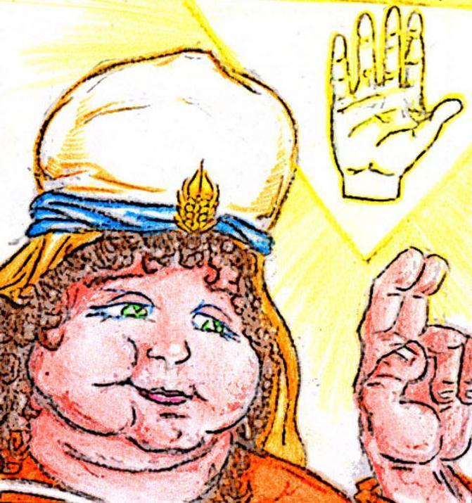 Cleransa di Baccogras, sacerdotessa del Grande Benefattore