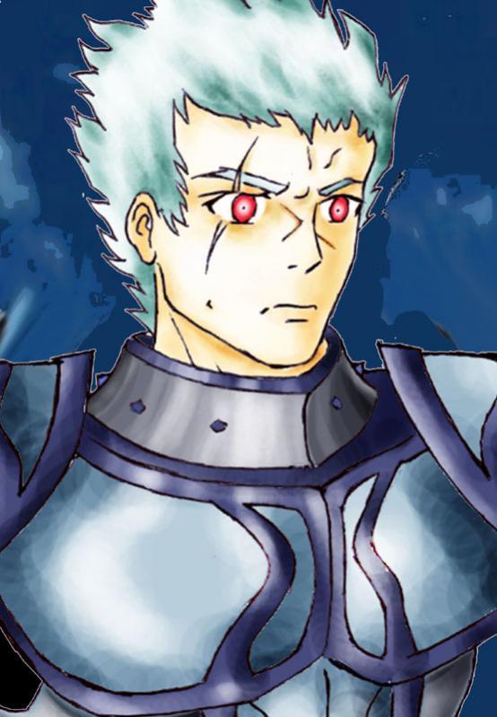 """REYOTT, il """"Cavaliere dell'Amore"""" (l'illustrazione non rende la sua abissale stupidità)"""