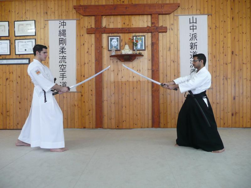 Senpai Jitan Kundalia e io, pochi attimi prima della sua morte atroce.