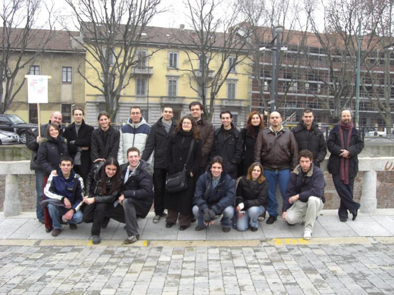 Secondo raduno dei cavalieri della Pizza Rotonda a Milano