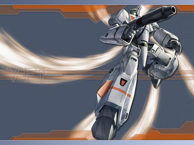 Robotech - Valkyrie Fighter: un bel fondino ...