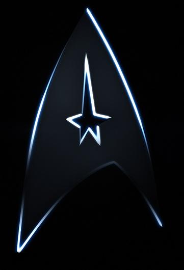 Star Trek: un logo in tinte scure che mi ha conquistato da subito.