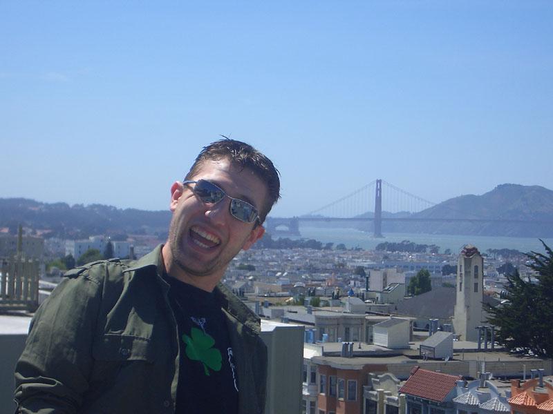 San Francisco, ma con un pazzo davanti (sono io)