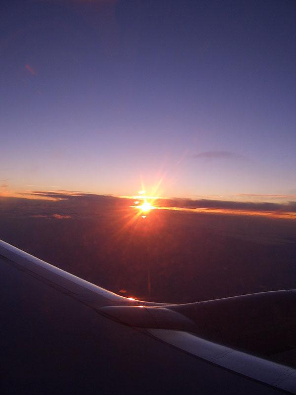 Il primo volo verso Londra