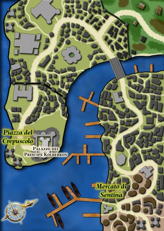 Mappa di Porto Soglia