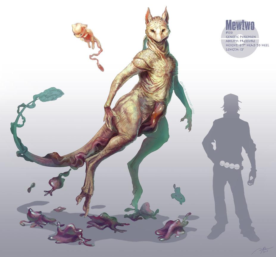 DND - CREATURE ORIGINALI - Mewtwo realistico.jpg